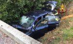 Finisce con l'auto nel canale di scolo a Mirano: conducente in ospedale