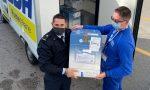 Poste Italiane ha consegnato vaccini Astra Zeneca all'Ospedale Dell'Angelo di Mestre
