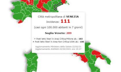 In Veneto situazione stazionaria, a Venezia salgono i contagi ma sono distanti dalla soglia critica