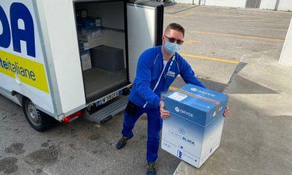 Poste Italiane ha consegnato i vaccini Moderna in provincia di Venezia