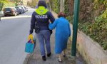 Anziana in stato confusionale si allontana da casa, salvata dalla Polizia