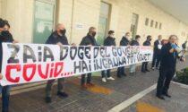Blitz di Forza Nuova a Marghera contro il Governatore Luca Zaia