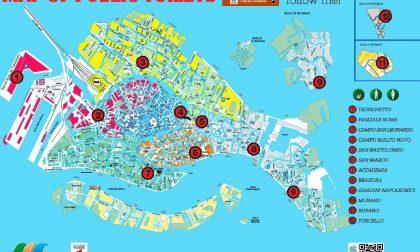 Aperti i wc pubblici di piazzale Roma e Rialto Novo a Venezia