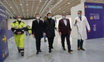 Campagna vaccinale al Pala Expo, video e foto del debutto dell'hub più grande del Veneto