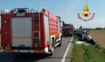 Dramma a Portogruaro: frena bruscamente e l'auto si rovescia, morto un 58enne