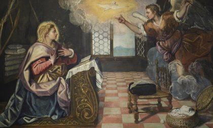 E' tornata a Venezia l'Annunciazione di Tintoretto, razziata dal gerarca nazista Goering