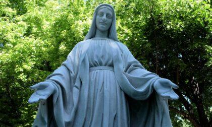 Statua della Madonna di Marghera decapitata dai vandali, riconsegnata alla cittadinanza