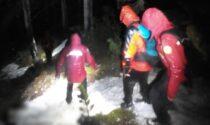 Le fotografie dei soccorsi prestati ai due 21enni di Pianiga sul Monte Alto di Pelsa