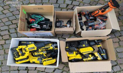 Utensili elettrici accumulati senza ragione, 40enne accusato di ricettazione