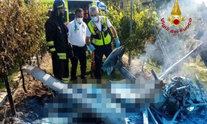 Incidente con un ultraleggero, morto sul colpo il pilota 63enne