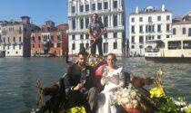 Tornano gli sposi a Venezia e i fiori li regala Coldiretti