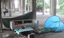 Le foto dei cinque insediamenti abusivi a Marghera rimossi dalla Polizia locale