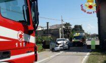 Violentissimo incidente stradale: coinvolta un'intera famiglia si Scorzè, un bambino è grave