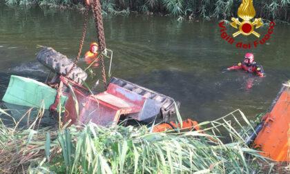 Tragedia a Caorle, trattore si rovescia nel canale: morto un agricoltore