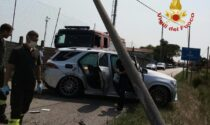 Suv esce di strada a San Donà di Piave, due persone ferite