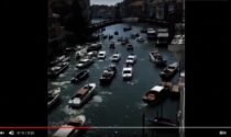 G20 a Venezia e disagi: il video delle barche incolonnate nel Canal Grande