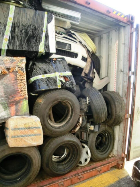 pneumatici e rifiuti
