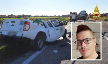 Incidente mortale Valentino Polato, indagato il camionista: disposta perizia cinematica