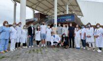 Vaccini da Serie A, i giocatori del Venezia al Pala Expo per dare l'esempio