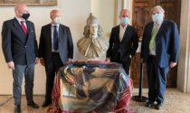 Il busto del doge Giovanni II Corner torna a Venezia, le foto della donazione alla Regione