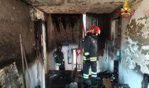 Incendio a Sottomarina di Chioggia, le immagini dell'appartamento devastato dalle fiamme