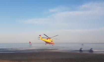 Bimbo di quattro anni salvato dall'annegamento in mare