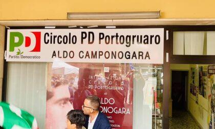 Il circolo Pd di Portogruaro finisce nel mirino dei vandali