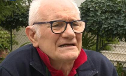 """Luigi Milani ha vinto il Covid a 84 anni dopo 4 mesi in ospedale: """"Vaccinatevi, è un inferno"""""""